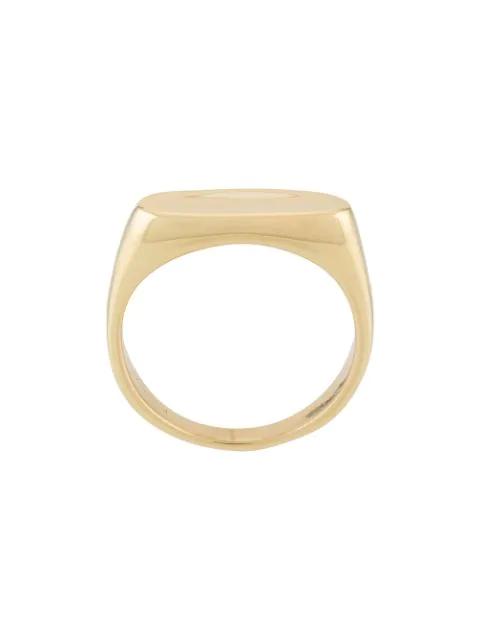 Maria Black Papaya Ring In Gold