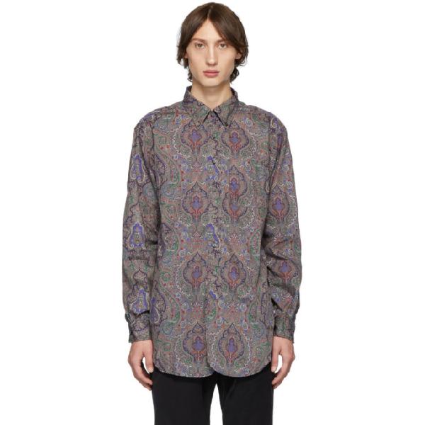 Engineered Garments Multicolor Century Paisley Shirt In Tb002grypsl