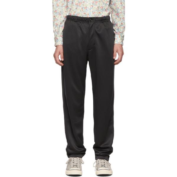 Engineered Garments Black Fleece Jog Lounge Pants