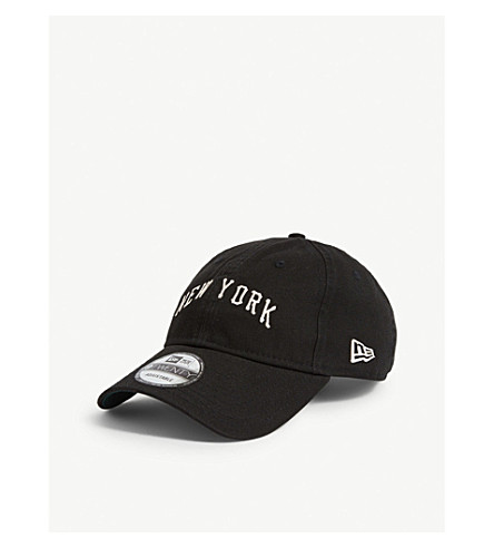 New Era New York Yankees 9twenty Baseball Cap In Black