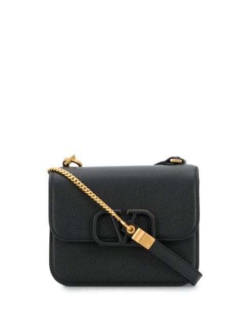 Valentino Garavani Garavani Vsling Small Black Leather Cross-body Bag