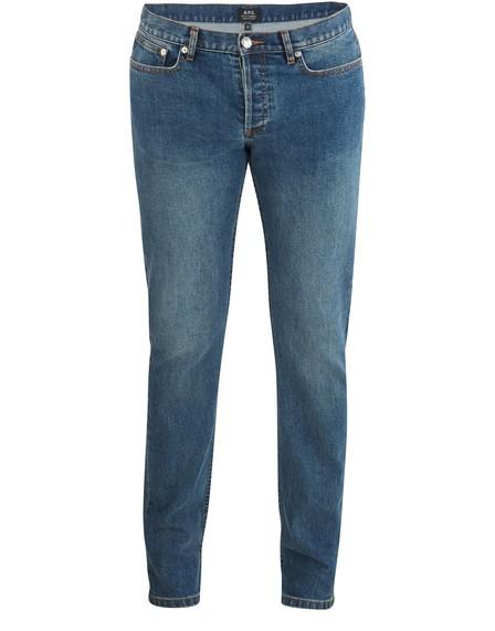 A.P.C. Petit Standard Jeans In Indigo Delave