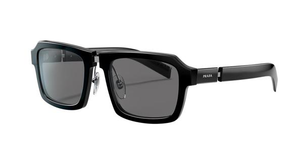 Prada Men's Sunglasses, Pr 09xs In Grey-black