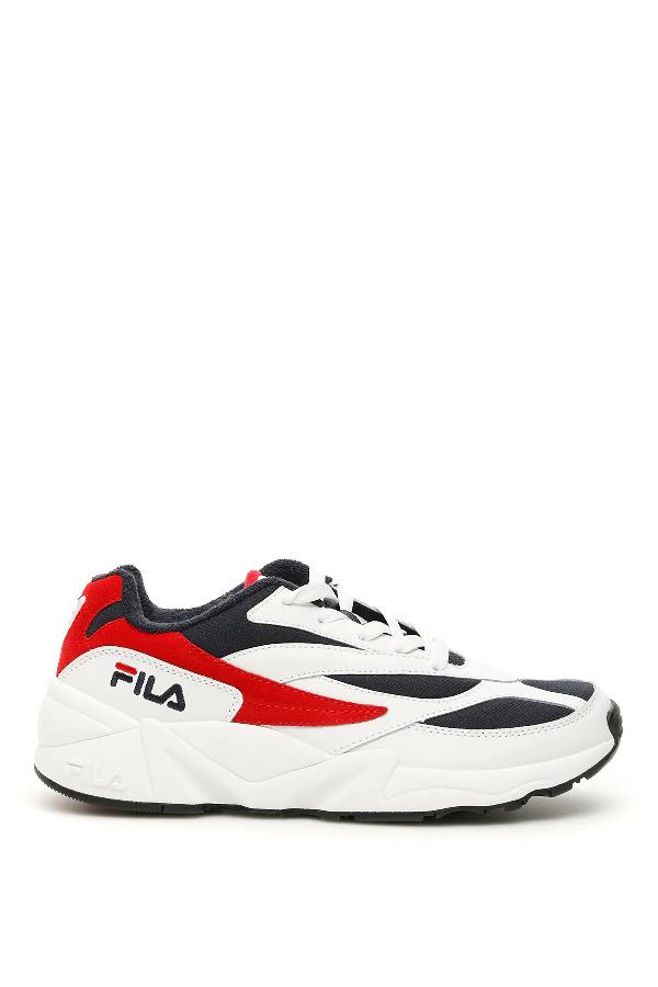 Venom 94 Sneakers In White,blue,red
