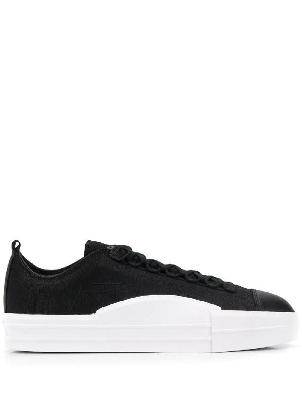 Y-3 Yuben Low Canvas Sneaker Black