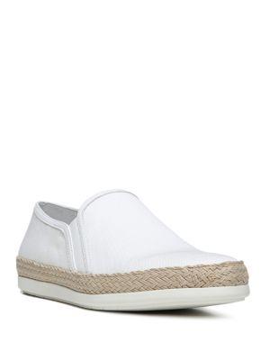 Vince Acker Espadrille Slip-On Sneakers In Off White