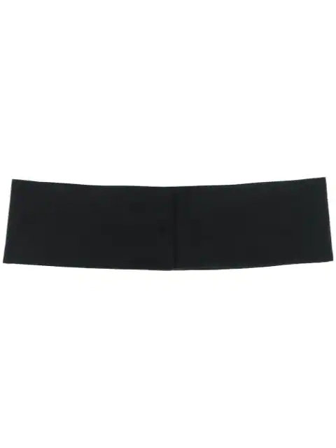 Costume National Classic Cummerbund In Black