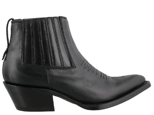 Ash Pepper Ankle Boots In Black