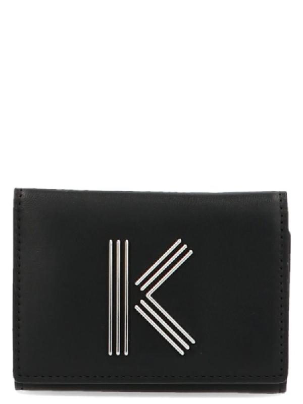 Kenzo K-Bag Wallet In Black