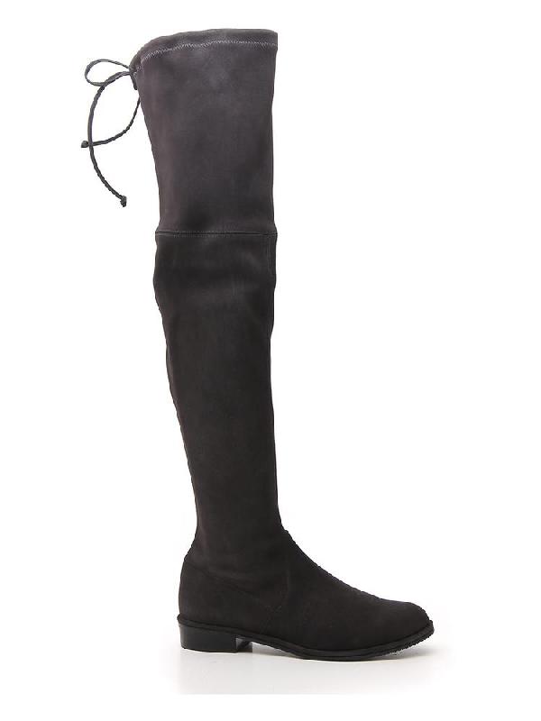Stuart Weitzman Lowland Boots In Grey