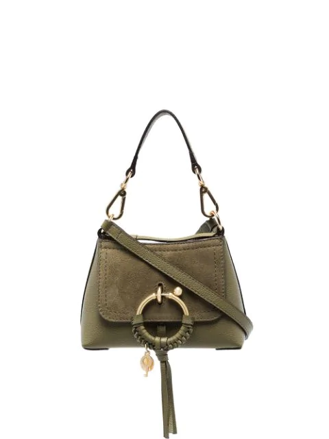See By ChloÉ Schultertasche Mit Ring In Green