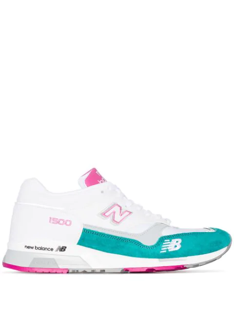 New Balance 1500 Colour-Block Sneakers In White