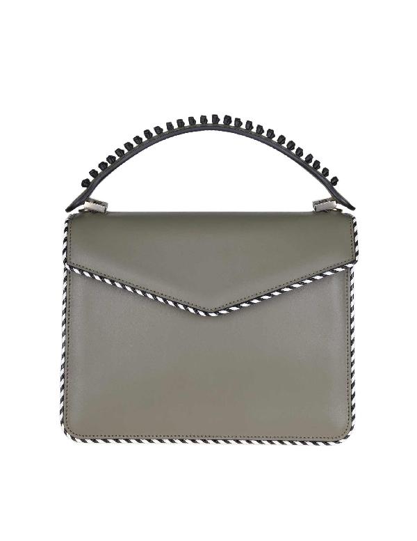 Les Petits Joueurs Green Leather Handbag