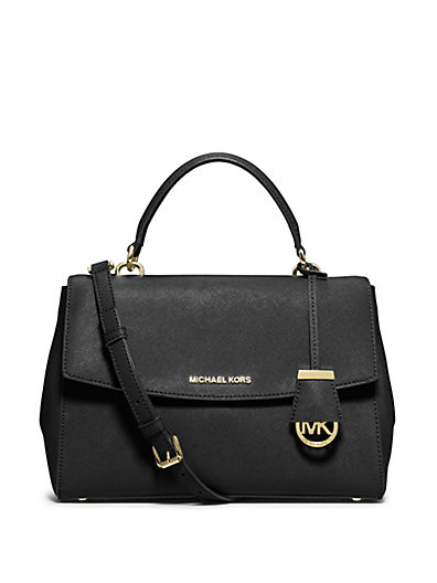 Michael Michael Kors Small Ava Bag In Black