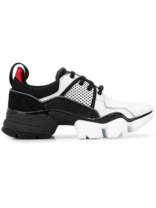 Givenchy Black & White Men's Black And White Jaw Sneakers