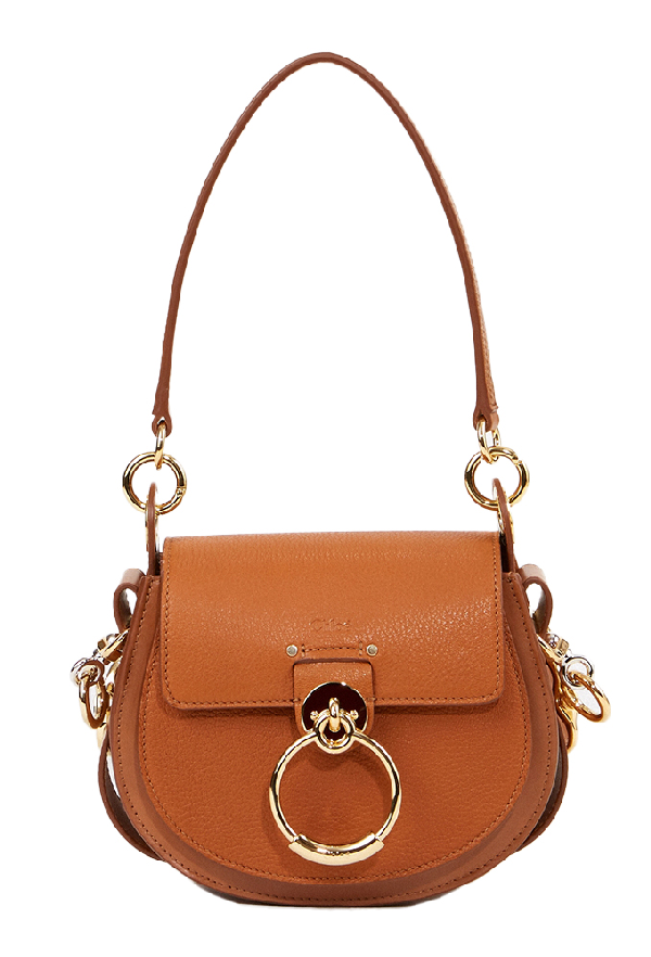 ChloÉ Shoulder Bag 'Tess Small' Caramel