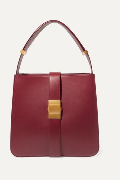 Bottega Veneta Marie Burgundy Nappa Leather Shoulder Bag