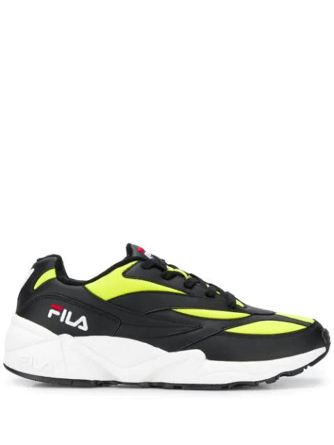 Fila Venom 94 Low-top Sneakers In Black