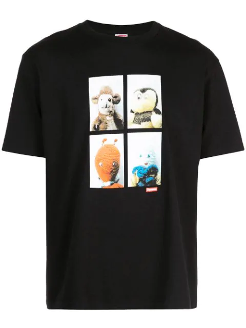 Supreme Mike Kelley Ahh Youth T-shirt In Black