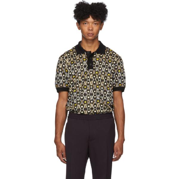 Joseph Oversized Diamond Polo Shirt In 0010 Black