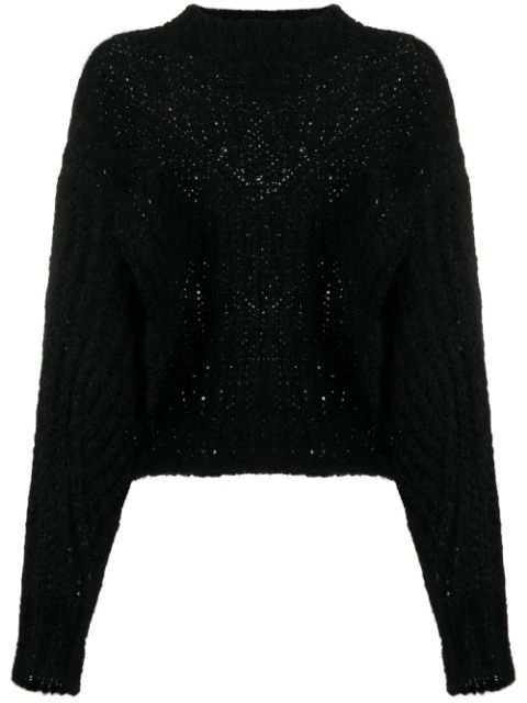 Isabel Marant Inko Jumper In Black