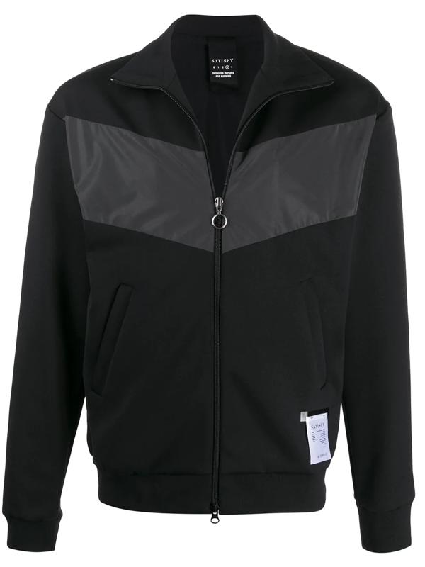 Satisfy Chest Panel Jacket In Black