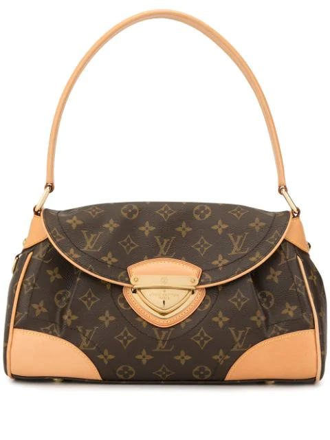 Pre-owned Louis Vuitton  Beverly Mm Shoulder Bag In Brown