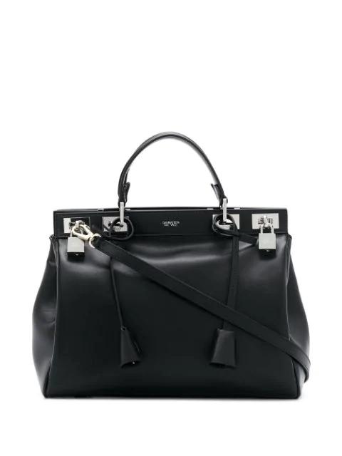 Giambattista Valli Flore Tote Bag In Black
