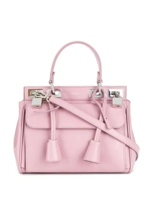 Giambattista Valli Small Flore Tote In Pink