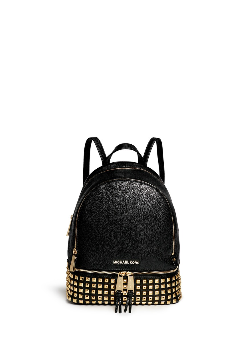 729f412949ae Michael Michael Kors 'Rhea' Stud Small Leather Backpack | ModeSens