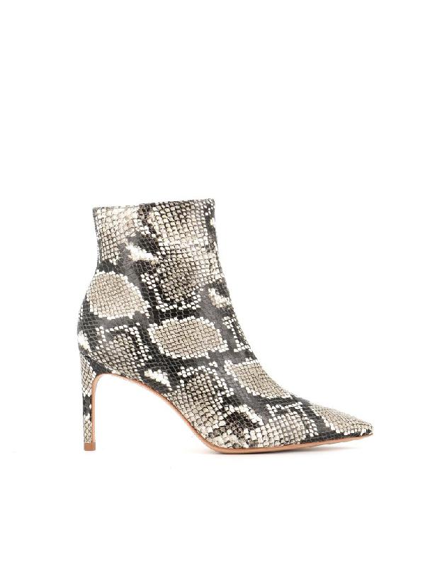 Sophia Webster Ankle Boot Daphne In Black/White