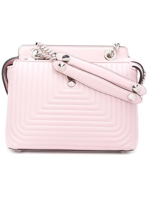 6e5bfc1e0be0 Fendi Dotcom Click Leather Shoulder Bag In Pink