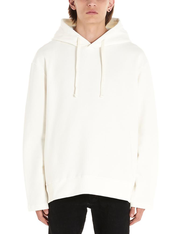 Ih Nom Uh Nit Graphic Print Oversized Hoodie In White