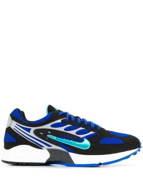 Nike Air Ghost Racer Sneakers In 001 Black/blue Racen Gray Wolf/hyperjade