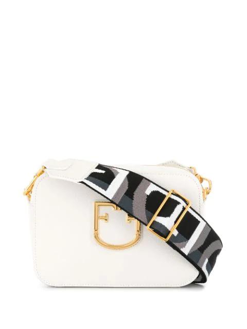 Furla Brava Bag In White