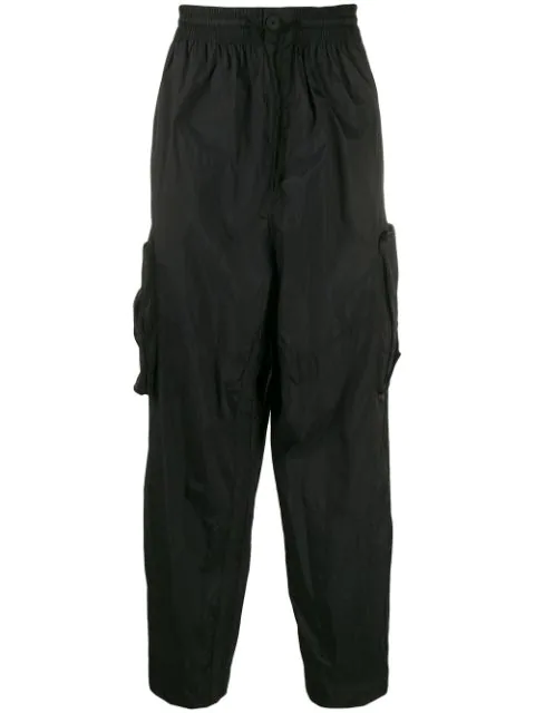 Y-3 Shell Track Pants In Black