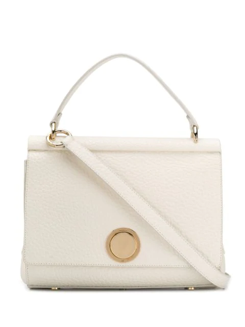 Giambattista Valli Flap Shoulder Bag In White