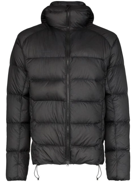 Mammut Delta X Meron Feather Down Puffer Jacket In Black