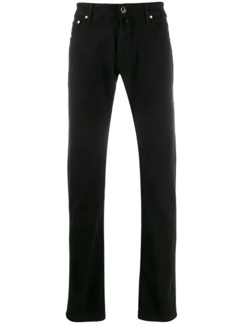Jacob Cohen Slim-fit Jeans In Black
