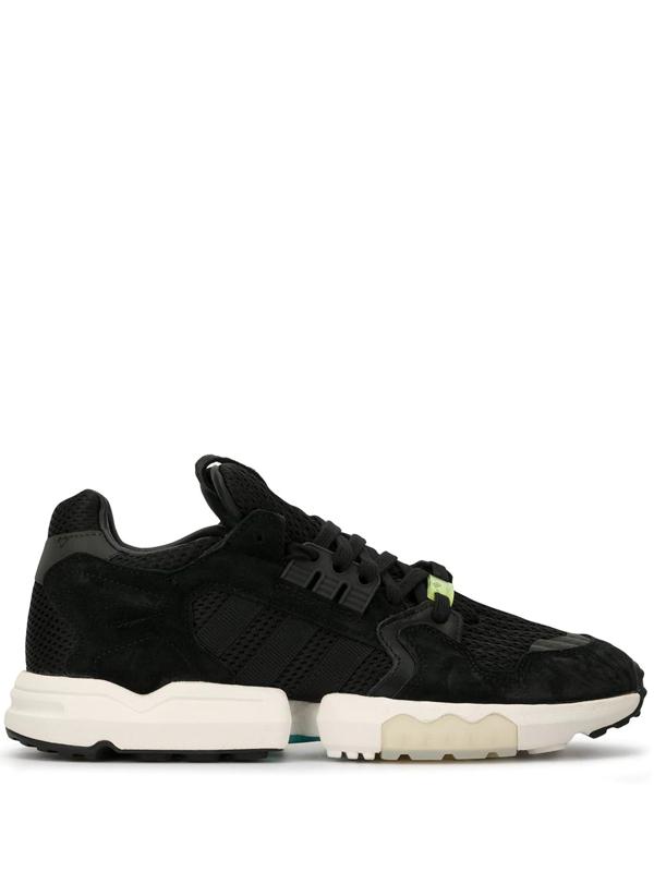 Adidas Originals Zx Torsion Sneakers In Black
