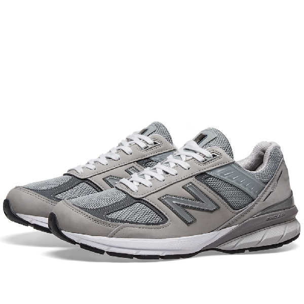 New Balance Mens Made In Usa M990 V5 Sneaker Grey