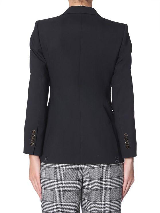 Dolce & Gabbana 40 Single-breasted Jacket In Black