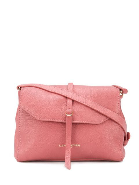 Lancaster Foldover Shoulder Bag In Pink