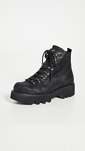 Montelliana Allison Boots In Black