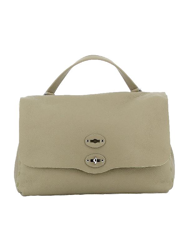 Zanellato Salvia Leather Handbag In Beige