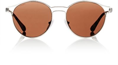 Prada Sunglasses, Pr 62Ss Cinema In Silver/Brown