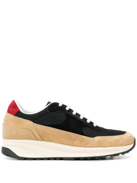 Common Projects Track Classic Trainers In 0502 Black Tan