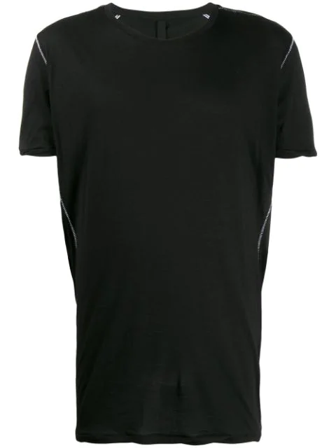 Army Of Me Contrast Stitch T-shirt In Black