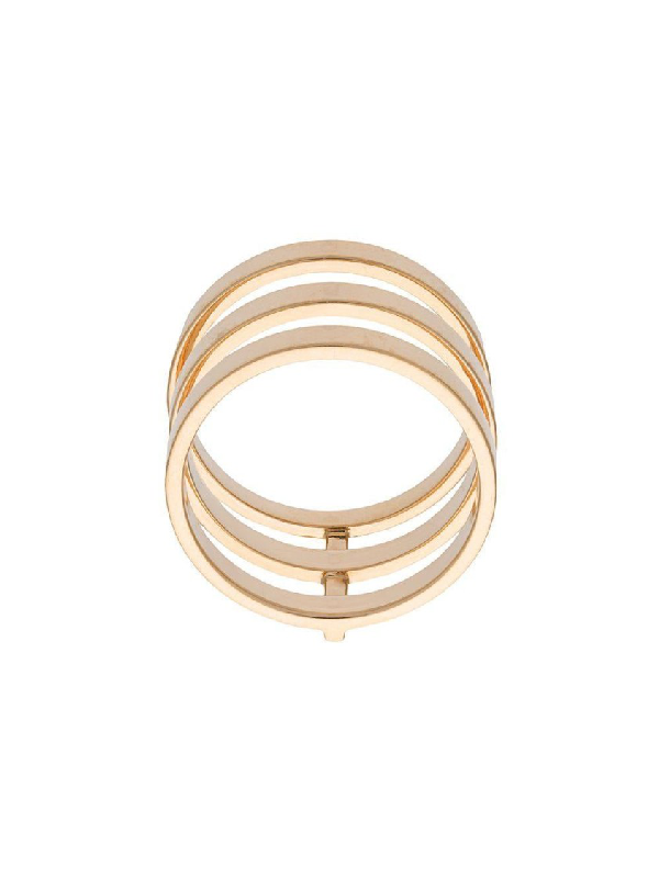 Repossi Yellow Gold Berbere Module Ring In Not Applicable
