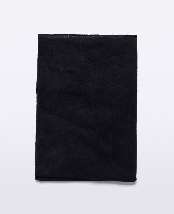 Aspesi Cashmere Scarf In Black
